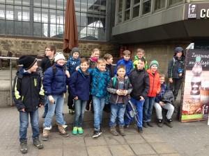Gruppenfoto Hamburg  Bahnhof